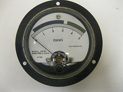 Honeywell Meter Model Hs3z Ohms Reads 0 To 5