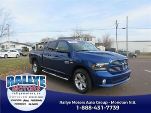 2016 Ram 1500 Sport! ALMOST NEW! 4x4! Back Up! Alloy! Heated! Hi