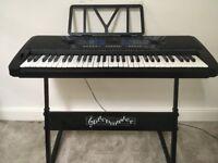 Pitch master keyboard