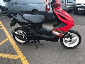 Yamaha aerox 100cc scooter moped 12 months mot
