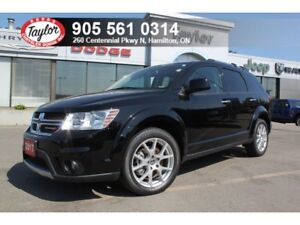 2017 Dodge Journey GT AWD w/Leather, Sunroof, DVD, Navi, 7-Passe