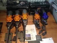 3 Dyson DC16 & 2 Dyson DC34 Hoovers