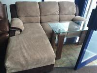 Display model***Tara small corner sofa--ONLY £450--CALL TODAY!!!