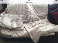 Gold superkingsize bedding
