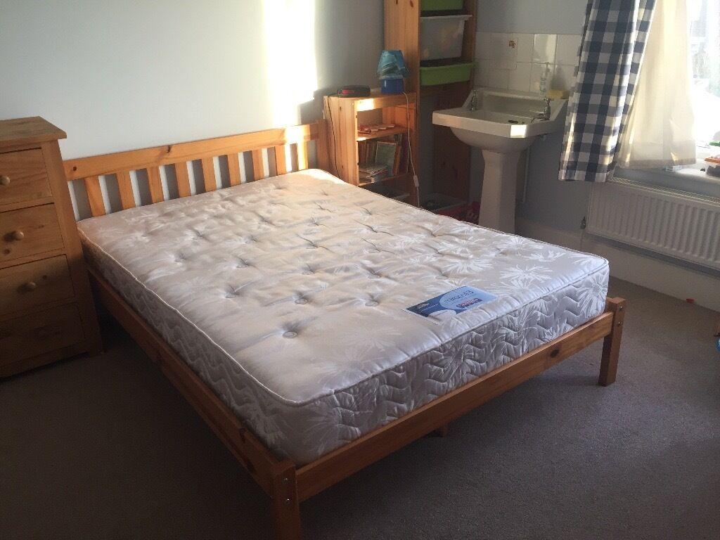 Pine bunk beds gumtree : Pine double bed in penylan cardiff gumtree
