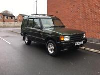 97 Land Rover discovery tdi 74k 2 owners 12m mot