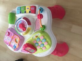 Vtech pink activity table