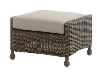 Madoera Footstool Colonial 4-Seasons Outdoor
