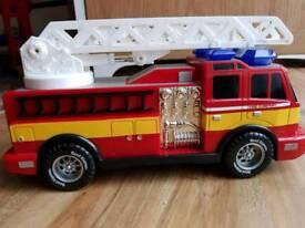 Kids Large Lights & Sounds Fire Engine