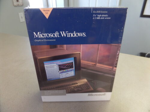 NOS Microsoft Windows 1.20MB Disk Version Graphical Environment 3.0 050-030V300