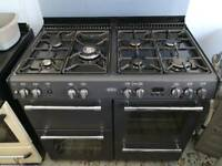 Belling 100cm Wide Dual Fuel Range Cooker with 6 Month Warranty