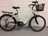 For sale an electric bicycle City Light 18 inch build on 6061 Aluminium frame.