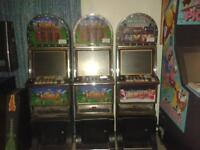 coin operated video arcade slot  arcade machine 19 inch lcd