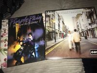 2x vinyls oasis and prince