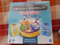 Trivial Pursuit Family Edition Board Game. Genuine product 73013 / 5010994645311