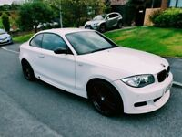 BMW 1 SERIES M-SPORT COUPE , VERY HIGH SPEC , 120D 320D MINI AUDI A3 MERDEDES CLK SLK PX CADDY GTI