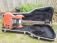 2005 Gibson SG Special Faded Cherry (pro set up, SD picksups, plus originals, hard case and extras)