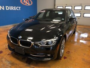 2018 BMW 330 i xDrive AWD/ LEATHER/ SUNROOF/ NAVI!