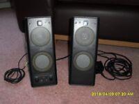 Pair of Logitec Speakers