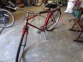 Curry Gents Road Bike circa 1960 26 inch wheels - Classic