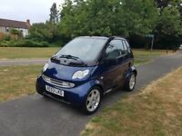 Smart brabus in lovely condition,61000 miles. 53 plate with full history low mileage