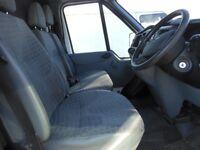FORD TRansit TCi 125PS Highroof Jumbo Panel Van, 2.2 Diesel,3 Seats, 156,000 miles