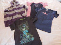 Boys Hoodie and 3 x T-Shirts Aged 11-12years