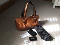 Authentic Yves Saint Laurent soft leather bag ( Louis Vuitton speedy 30 )