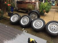 5 bmw wheels& tyres x5
