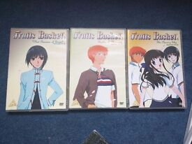 "Volumes 2, 3 & 4 of ""Fruits Basket"" Anime"