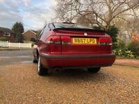 Left Hand Drive Saab Auto 93 2001 Classic