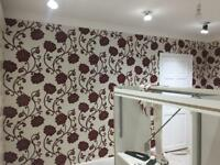 Painters decorator tiles and wallpapers