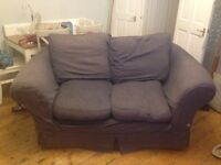 Blue Sofa - 2 seater