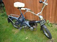 raleigh wisp moped historic vehicle