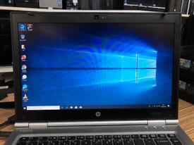 HP ellitebook 8460p Intel core i5 -2520M 2.50GHZ 4GB Ram 320GB HDD WINDOW 10