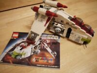 Lego Star Wars Republic Gunship 7163