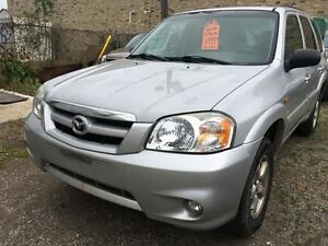 2005 Mazda Tribute GX CALL 519 485 6050 CERTIFIED