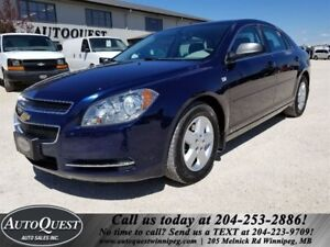 2008 Chevrolet Malibu LS - LOW KMS, Cruise, Keyless Entry & More