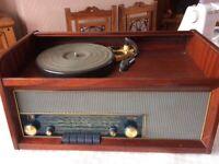 Mahogany Radio Gram