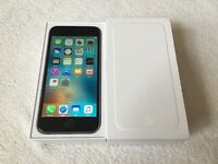 iPhone 6 16GB Space grey factory unlocked in box with all accessories for sale