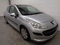 PEUGEOT 207 , 2007/57 REG , ONLY 27000 MILES , LIKE NEW + HISTORY , YEARS MOT , FINANCE , WARRANTY