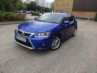 Lexus Ct 200h 200h Luxury 5dr (blue) 2015