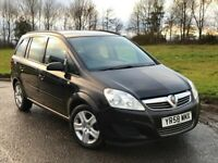 2008 58 VAUXHALL ZAFIRA 1.6 EXCLUSIVE 7 SEATER MOT SEPTEMBER 2018 2 KEYS #PICASSO#SCENIC#GALAXY