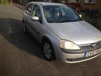 Vauxhall Corsa 1.2 sxi Easytronic Spares or Repairs