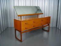 Vintage G Plan Quadrille Dressing Table Retro Mid Century Furniture