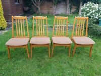 4 cosy chairs
