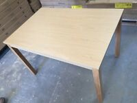 Argos Melamine 120cm Dining Table Brand new In Box