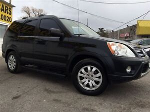 2006 Honda CR-V SE/AWD/SIDEBARS/FOGLIGHTS/LOADED/ALLOYS
