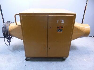 Wolf KG 100 Hallenheizung 8000 m³/h Lufterhitzer Warmlufterzeuger Zeltheizung