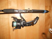 Canne moulinet Shimano, Mitchell 7 pieds, Fishng rod and reel